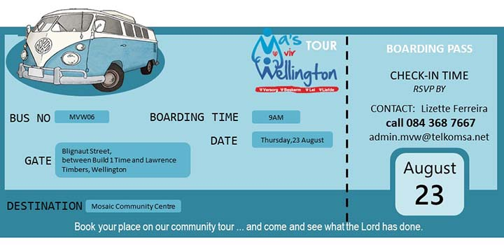Bus boarding pass 23 August 2018
